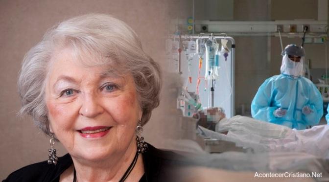 Anciana de 93 años vence al coronavirus después de orar día y noche en hospital